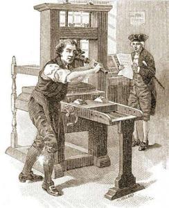 Ben Franklin's Printer
