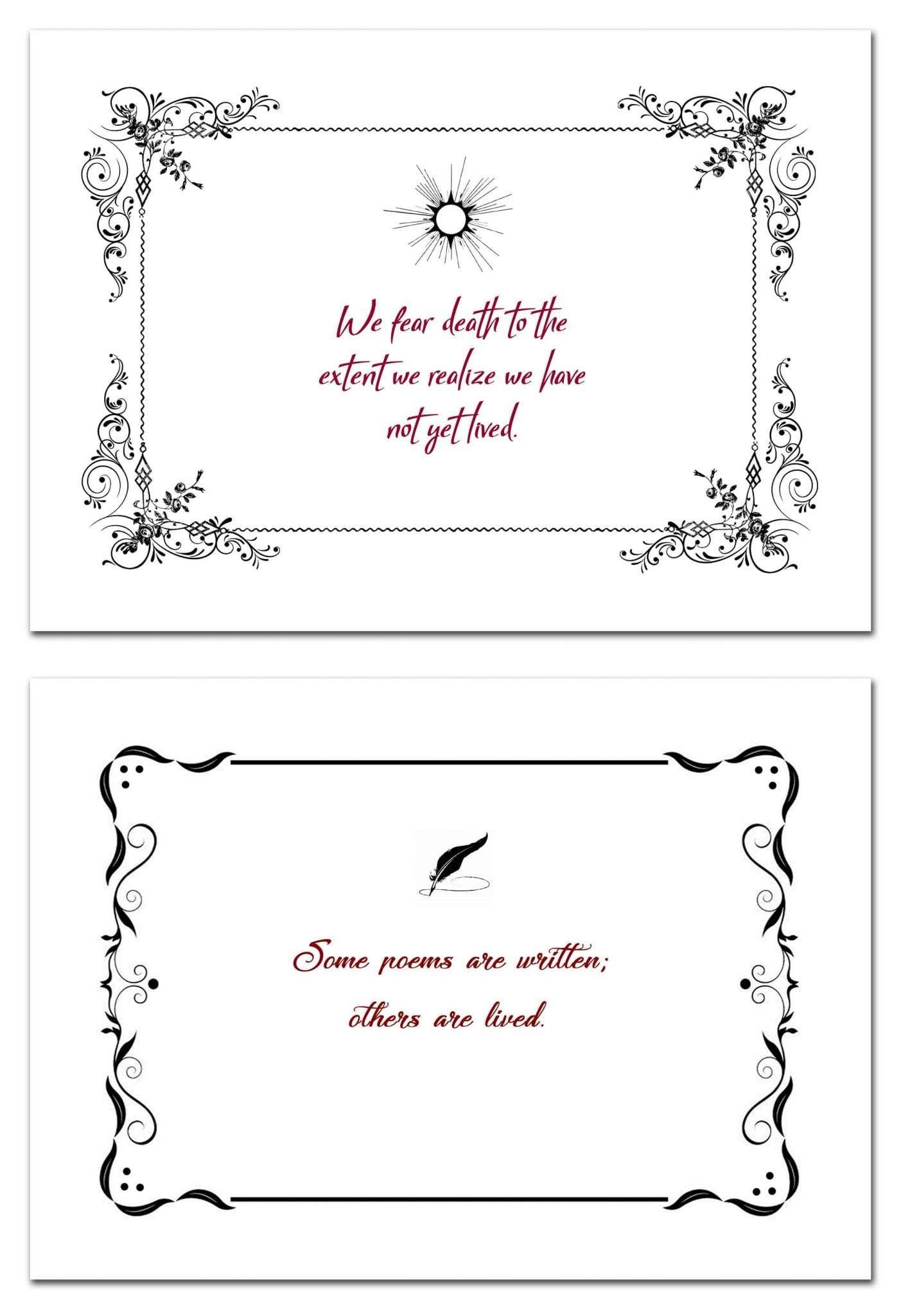 Poem Cards